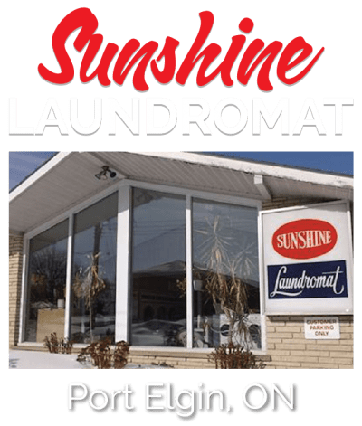 sunshine laundromat port elgin ontario
